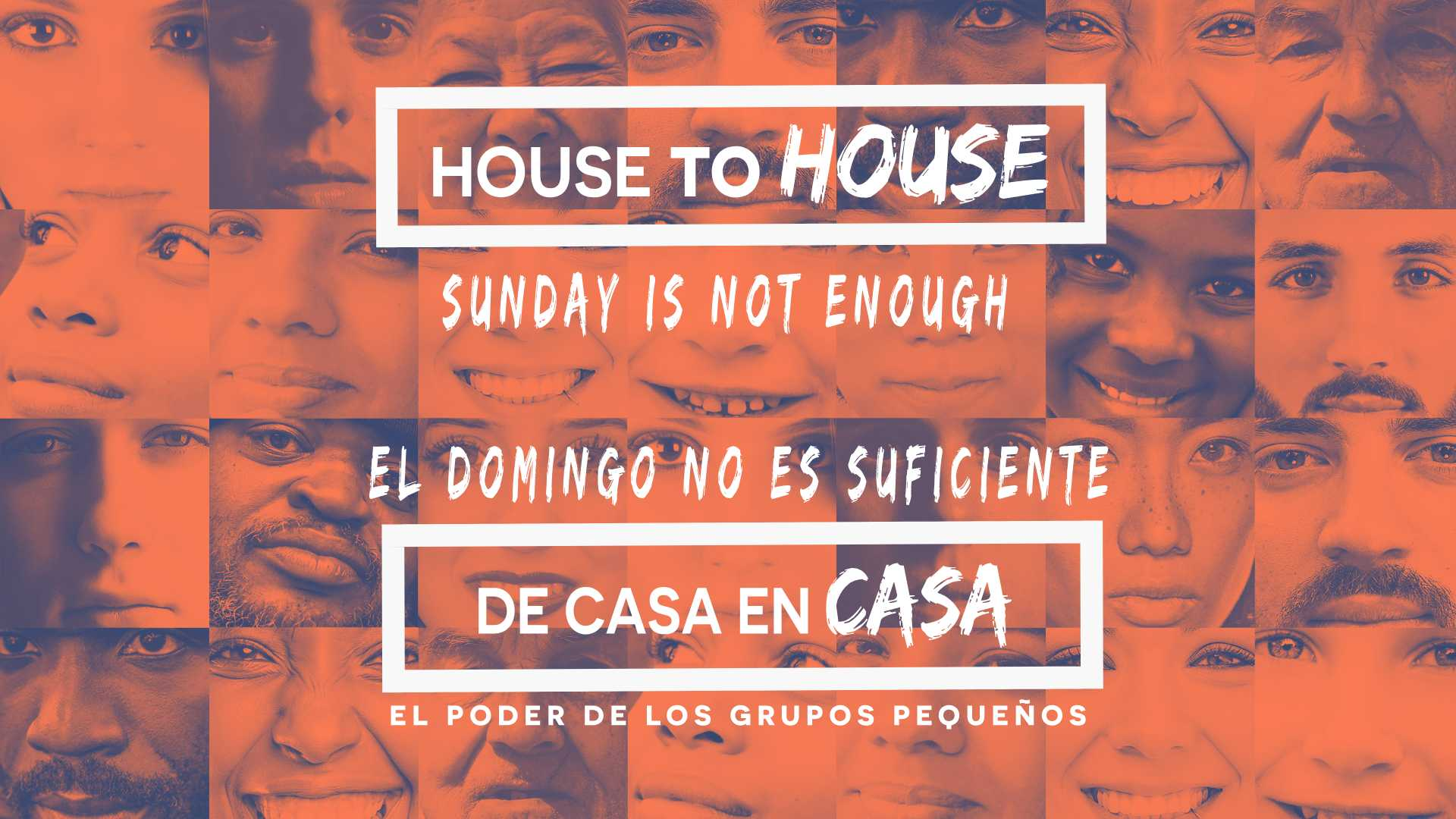 House to House: Sunday is not Enough