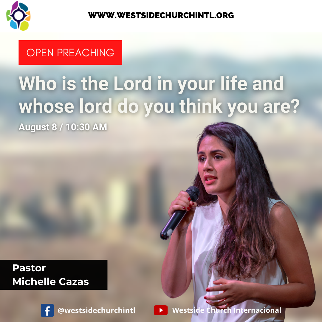 Who is the Lord in your life and whose lord do you think you are?